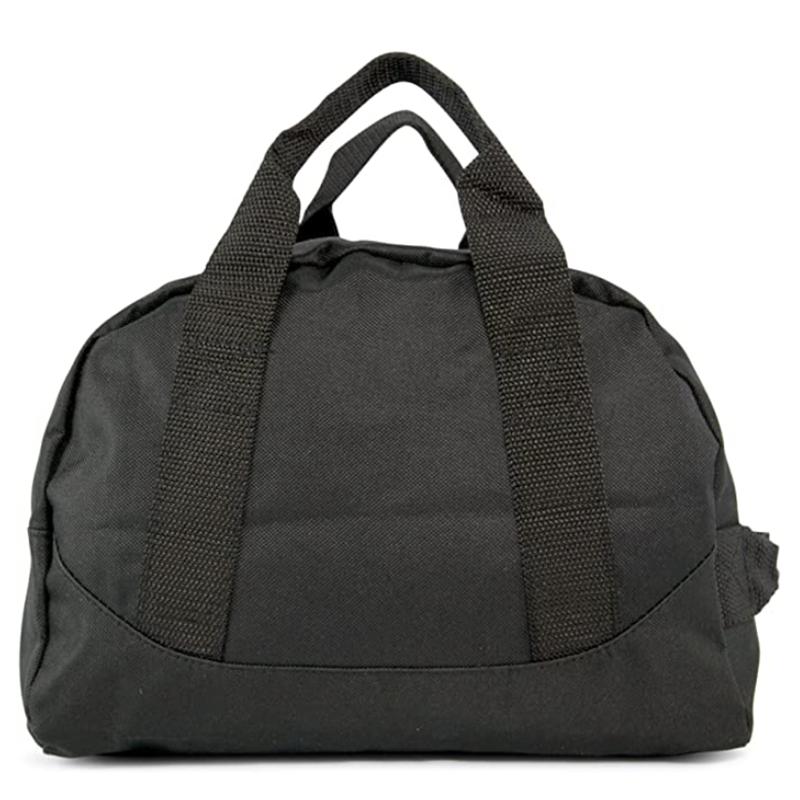 Black Color Convenient Two Tone Duffle Bag