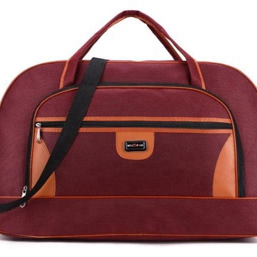 In Stock Custom Polyester Gym Weekender Travel Bag Large Sports Duffle Bag