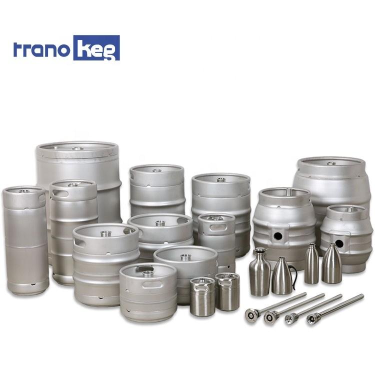 European American Germany 20L/30L/50L keg beer types food grade barrel stainless steel beer keg for sale