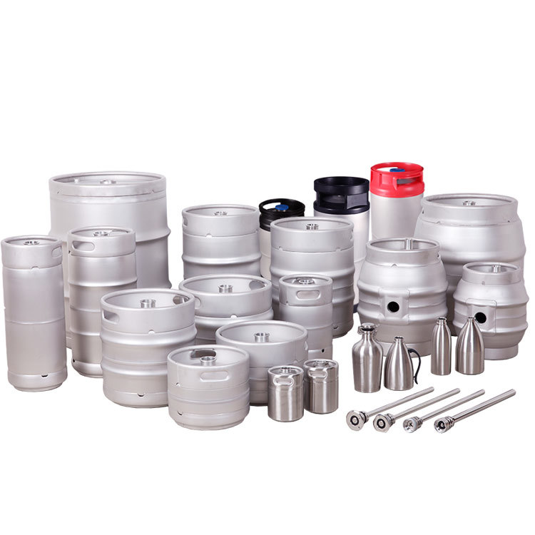 Wholesale empty stainless steel Food grade beer barrel keg
