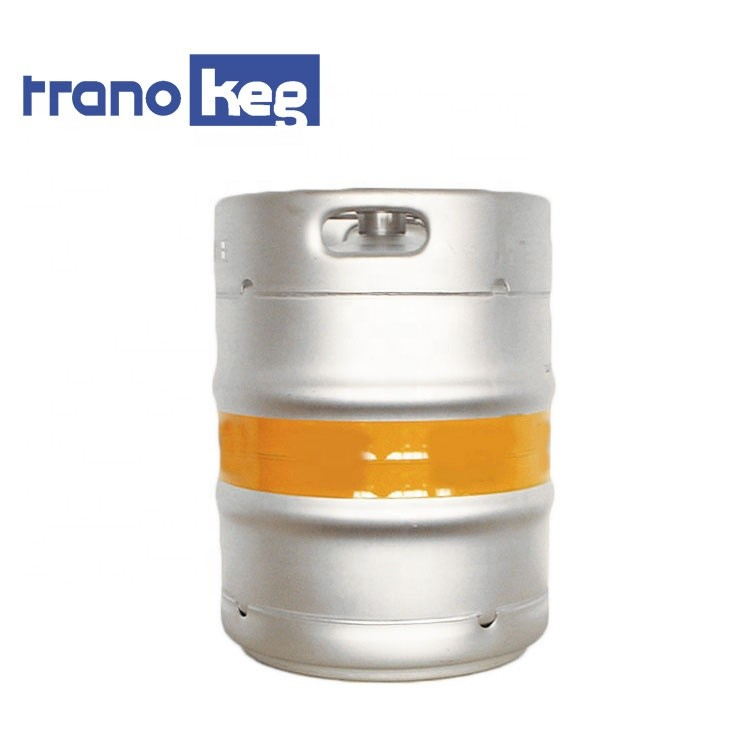 Factory Direct Sales Customized Food Grade AISI 304 Stainless Steel container drum Durable Euro beer keg 50L barrel
