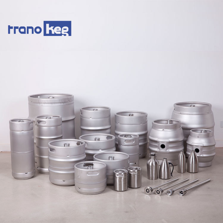 New Us 1/2 1/4 Keg Euro Standard Stainless Steel Draft Beer Keg 20l 30l 50l For Beer