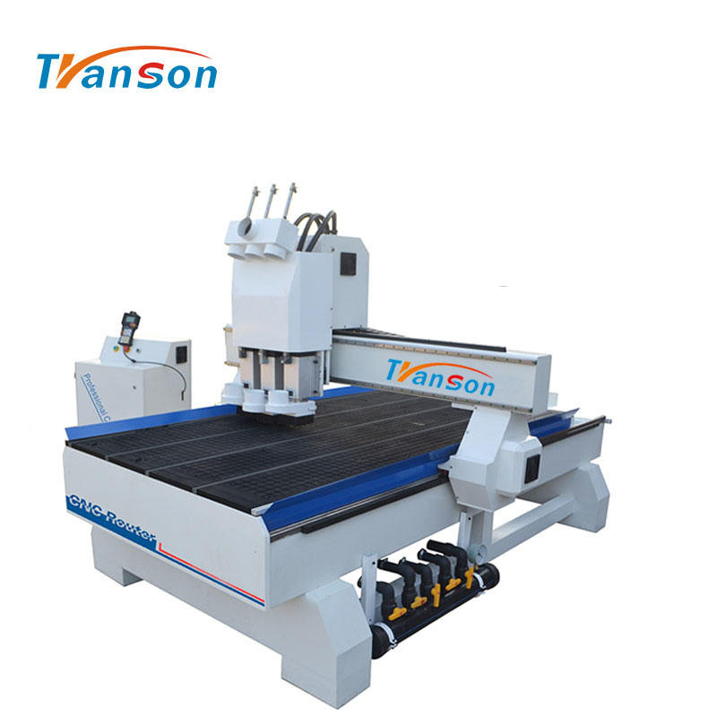 TSW1325 cnc router multi head wood carving machine