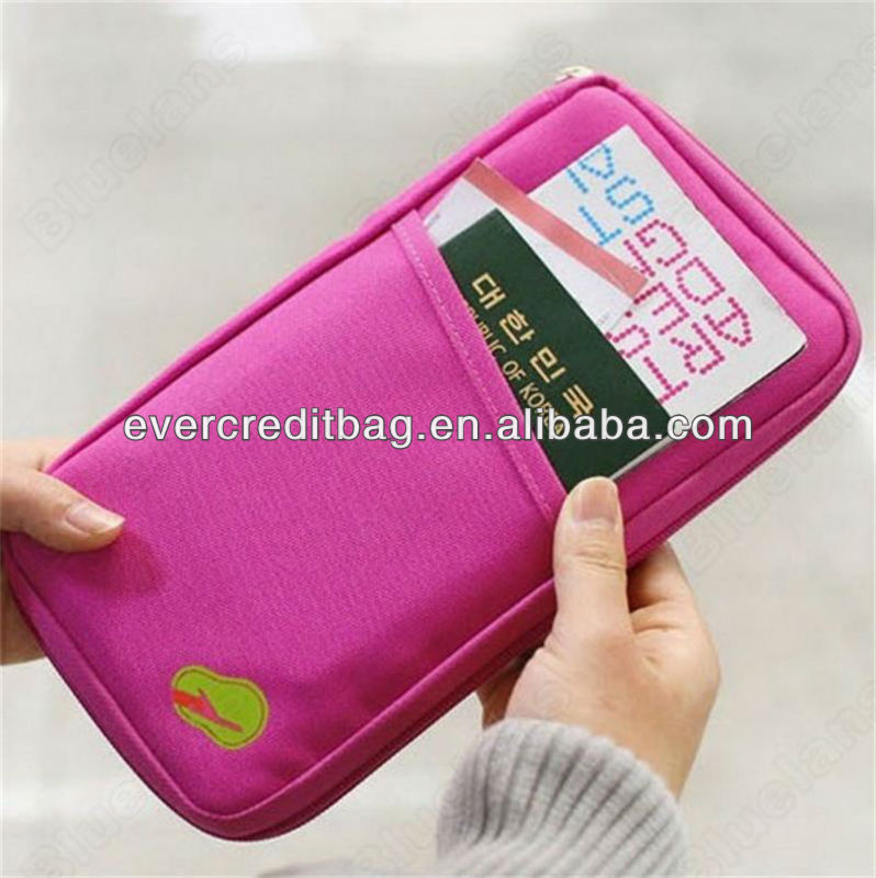 Cheap Passport Holder, Travel Wallet with multi-pockets