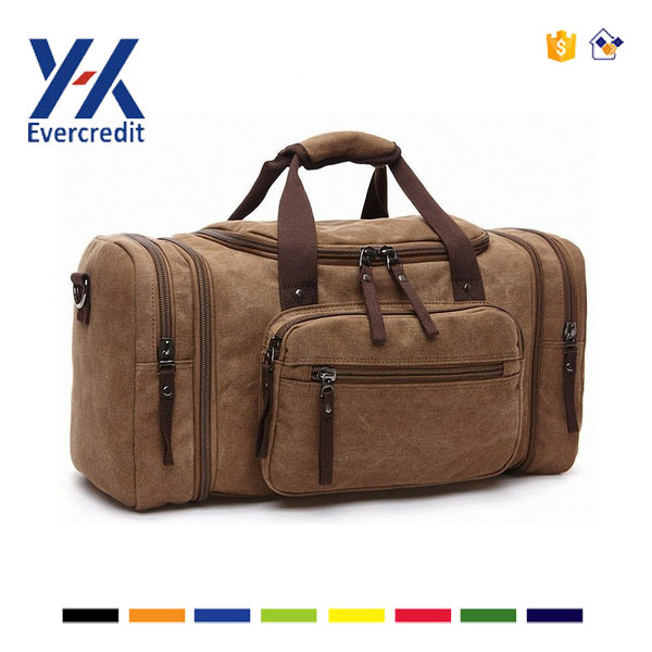 China Supplier Factory Price Canvas Custom Duffle Bag