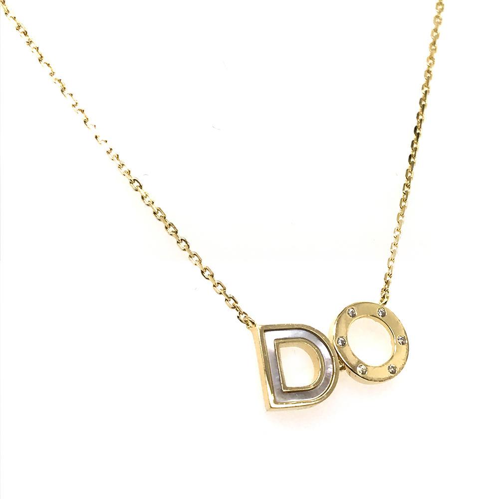 Custom Design Gold Chains Word