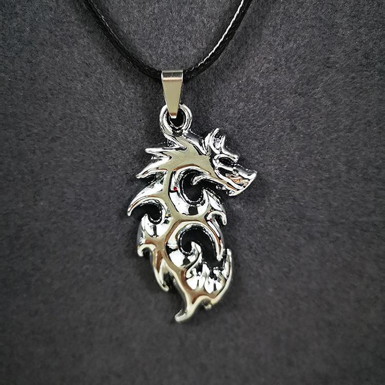 Punk style hexagram shape devil eye pendant necklace custom packaging