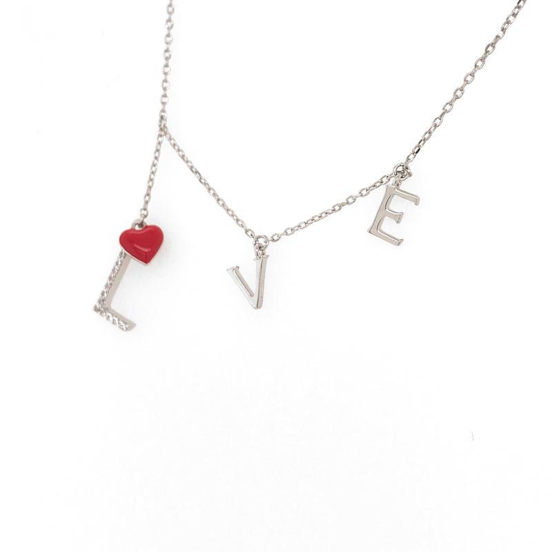 Cute Red Enamel Heart