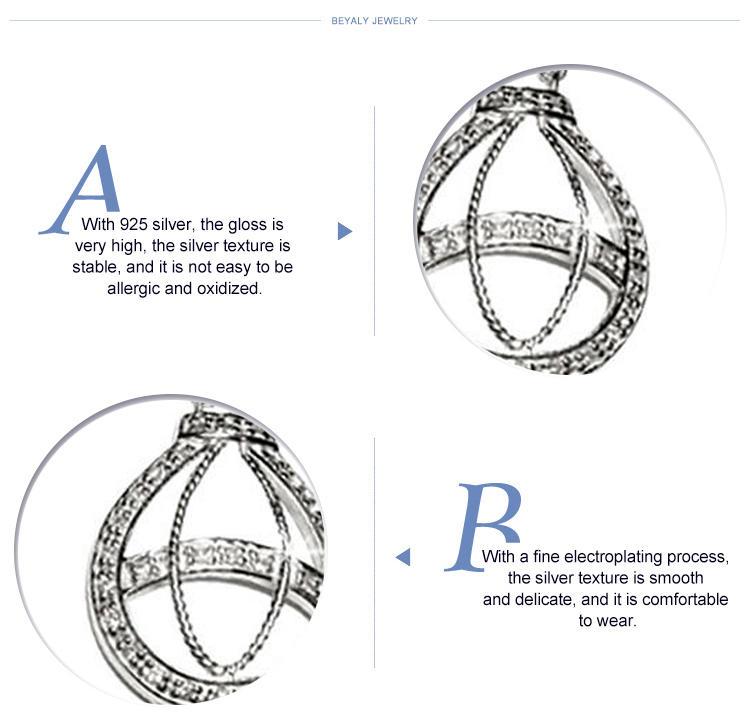 Avant-garde design sterling silver islamic prayer beads necklace