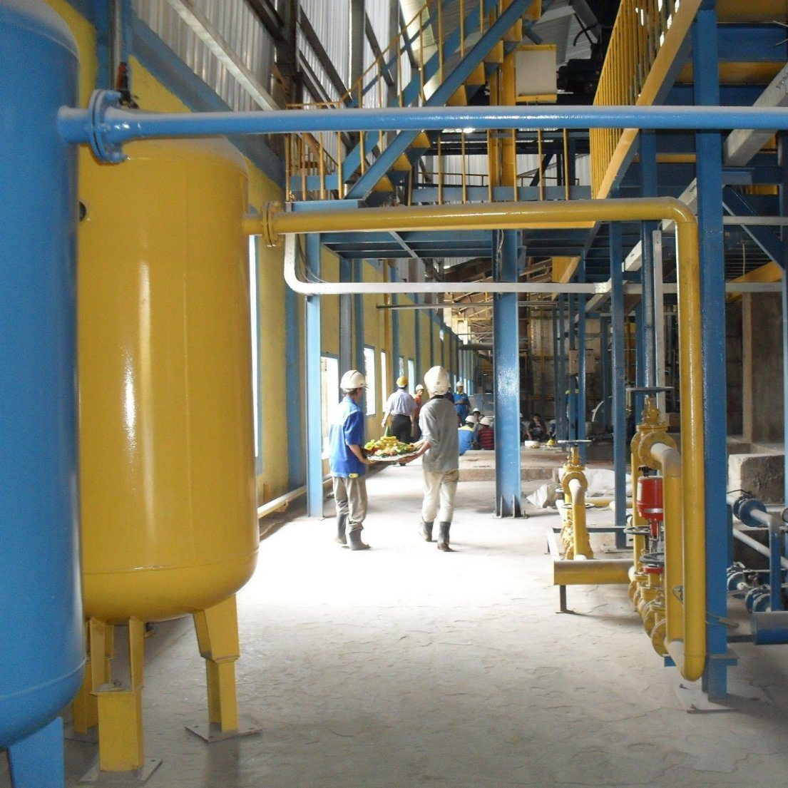 Dry Process Solid Sodium Silicate Plant with Hot Air Furnace