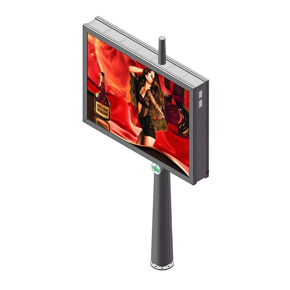 Outdoor mupi scrolling light box advertising billboard