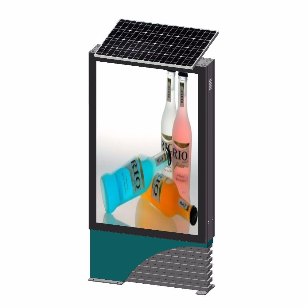 Advertising Equipment Outdoor Floor Standing Solar Light Box