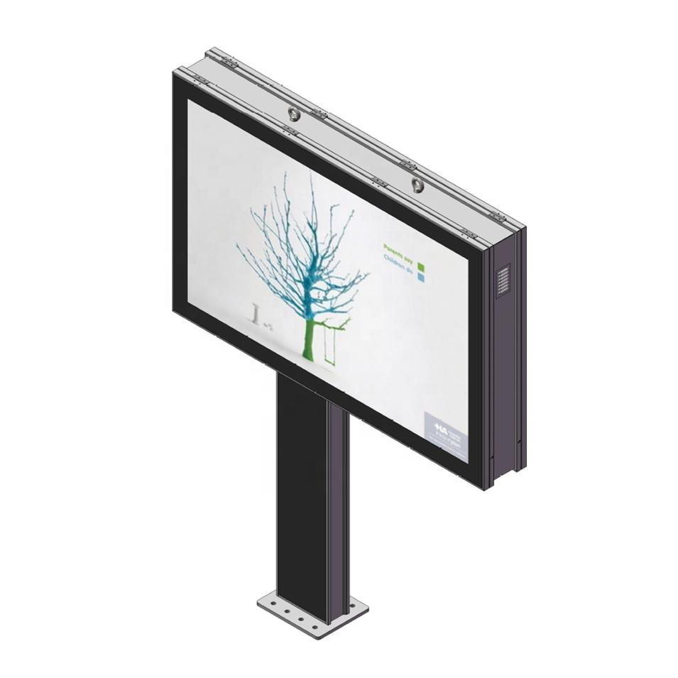 Street mupi scrollingbillboard rotating light box