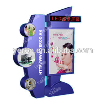 YEROO Hot selling professional cheap city light box with smart idea