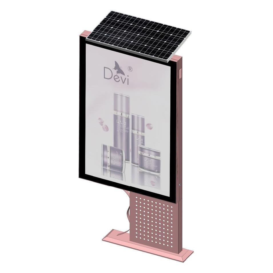 Indoor stand led display advertising backlit billboard light box