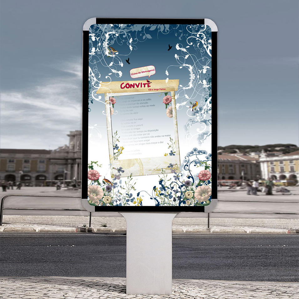 Outdoor advertising long lifespan light box mupi