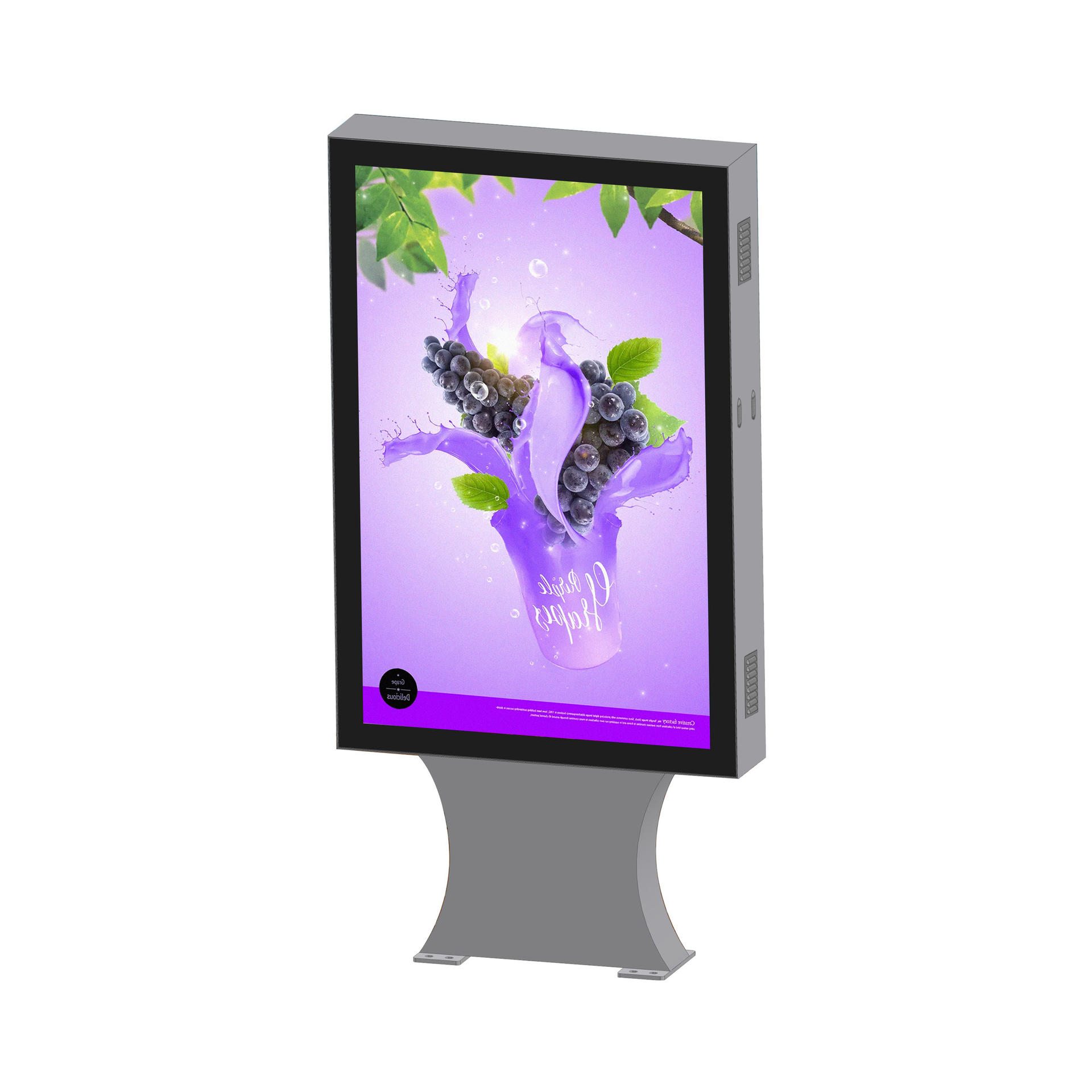 outdoor 43 inch floor standing scrolling light box