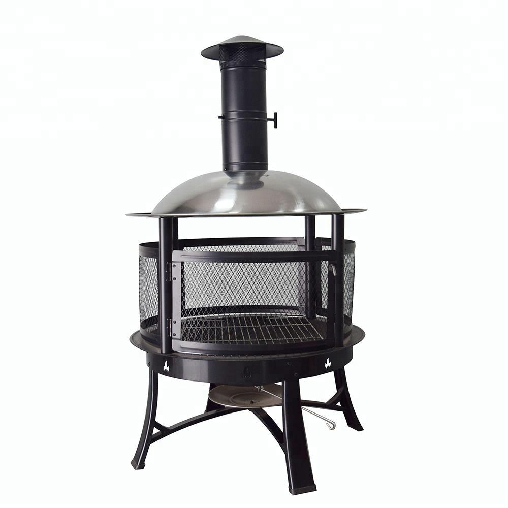 new wholesales portable iron wood burning fire pit