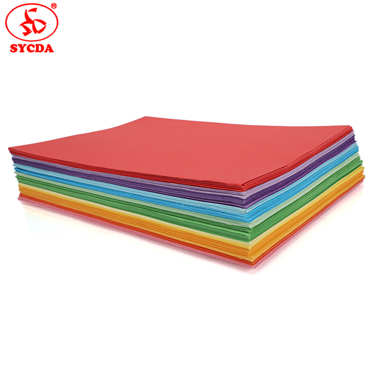 A4 size Woodfree paper coloful offset master paper OEM