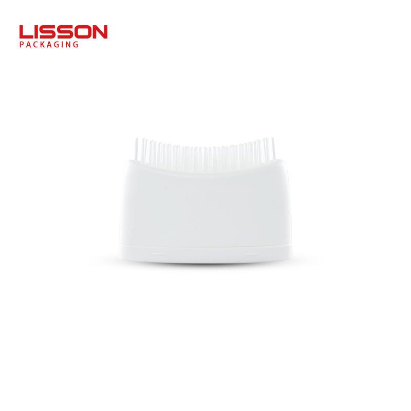 80-150ml empty custom plastic massage bottle with hair comb applicator