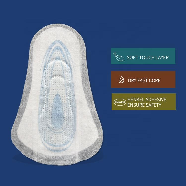 Custom male incontinence pads super absorbent serviette hygienique