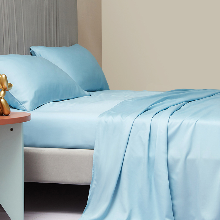 Enerup Custom Manufacturers Stock Home Textile Polyester Cotton Material Queen Size Fit BedSheet Set sabanas para cama