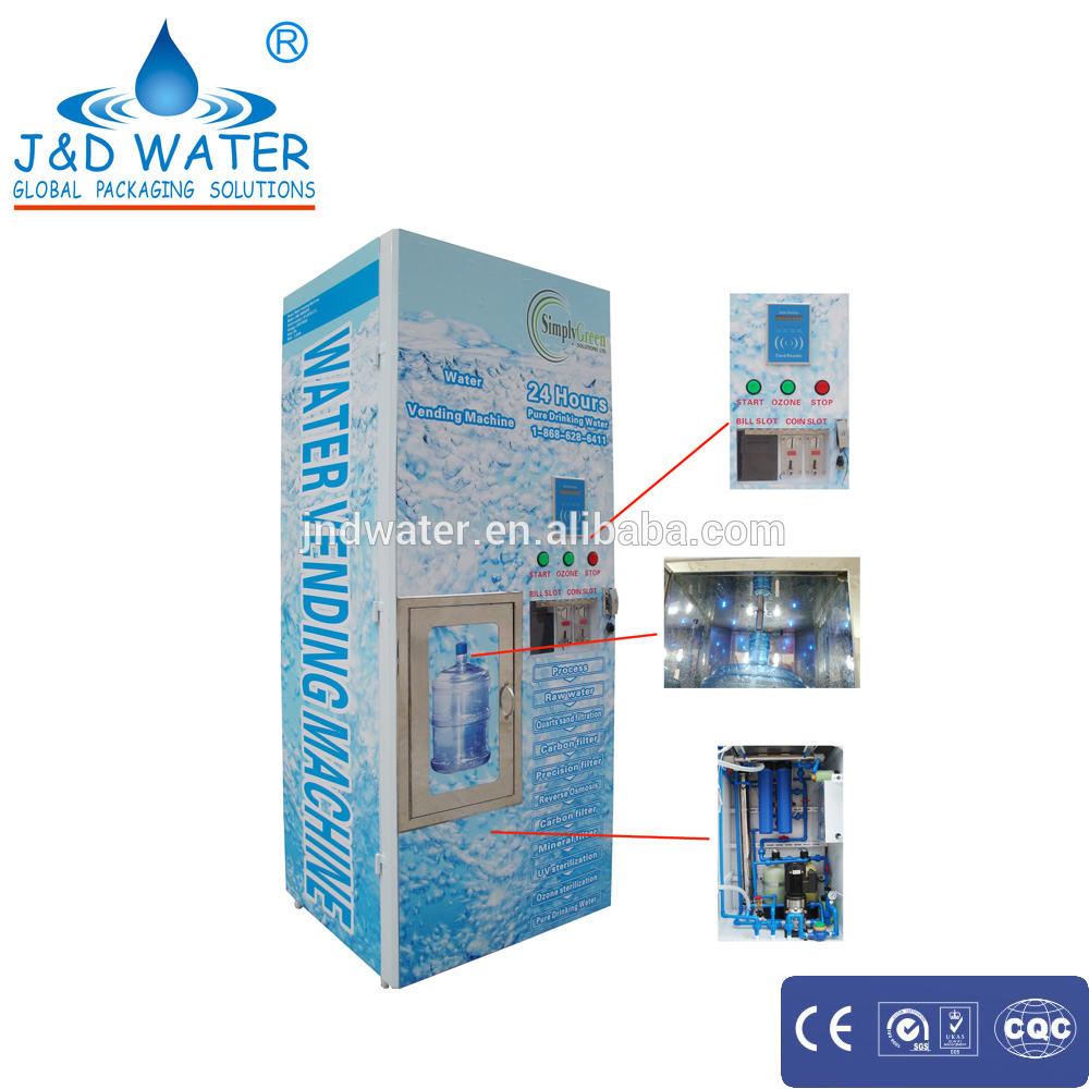 Automatic Water Vending Machine