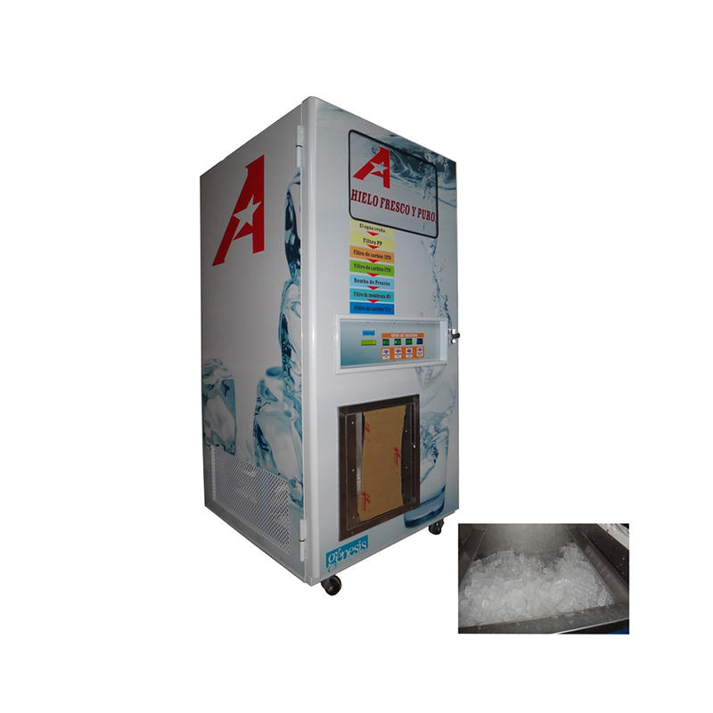 Automatic Ice Vending Machine with RO system