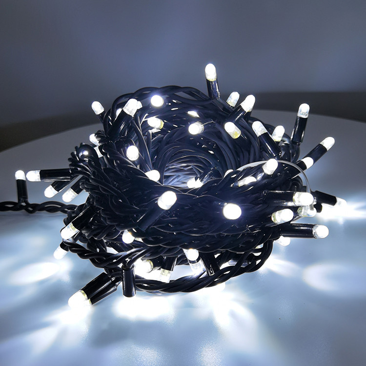 Connectable Type IP65 Waterproof 180 Luminous Angle Rubber Decoration LED String Lamp
