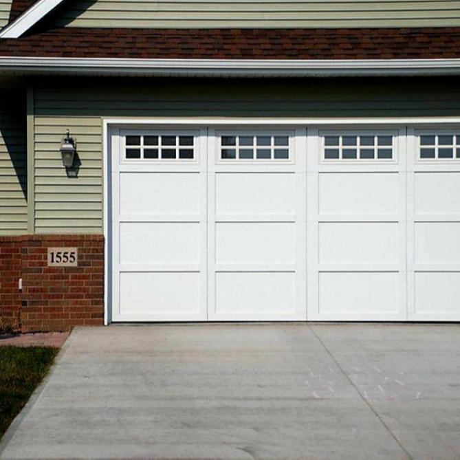 Auto Residential Garage Doors in Aluminum Alloy Material