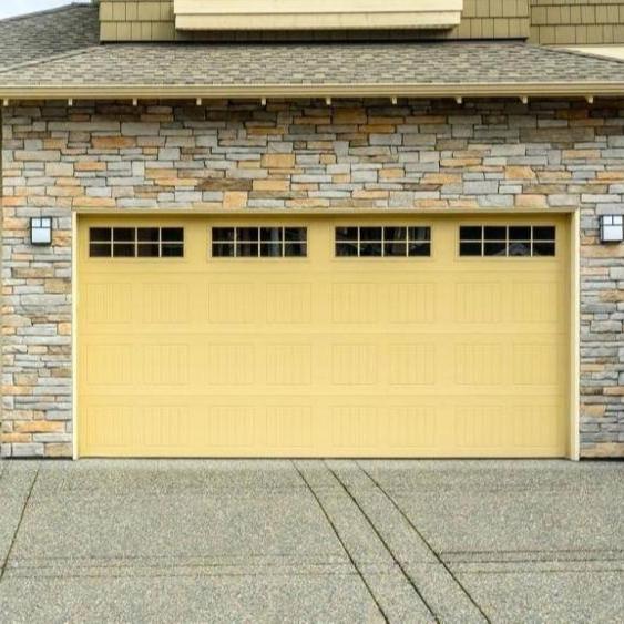 Auto Aluminum folding Residential Garage Doors High Safety