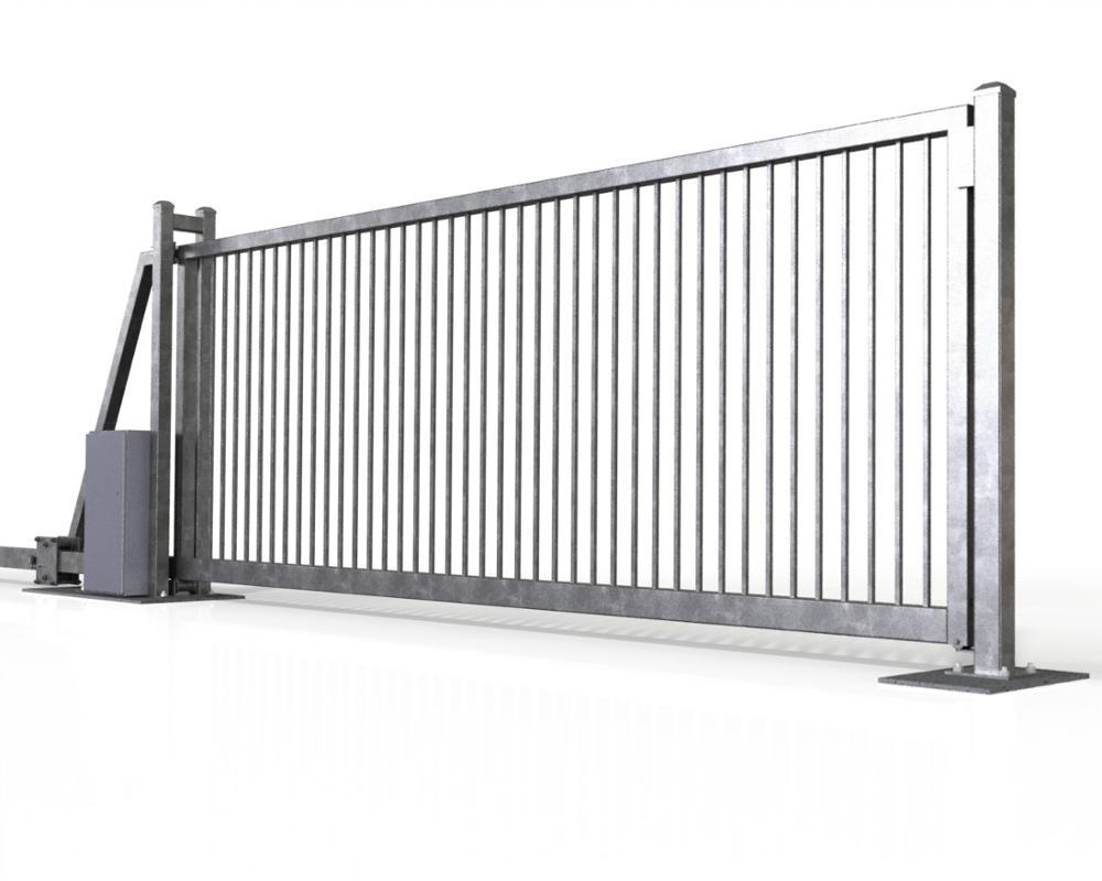 Hot Sale Aluminium Alloy Sliding Gate