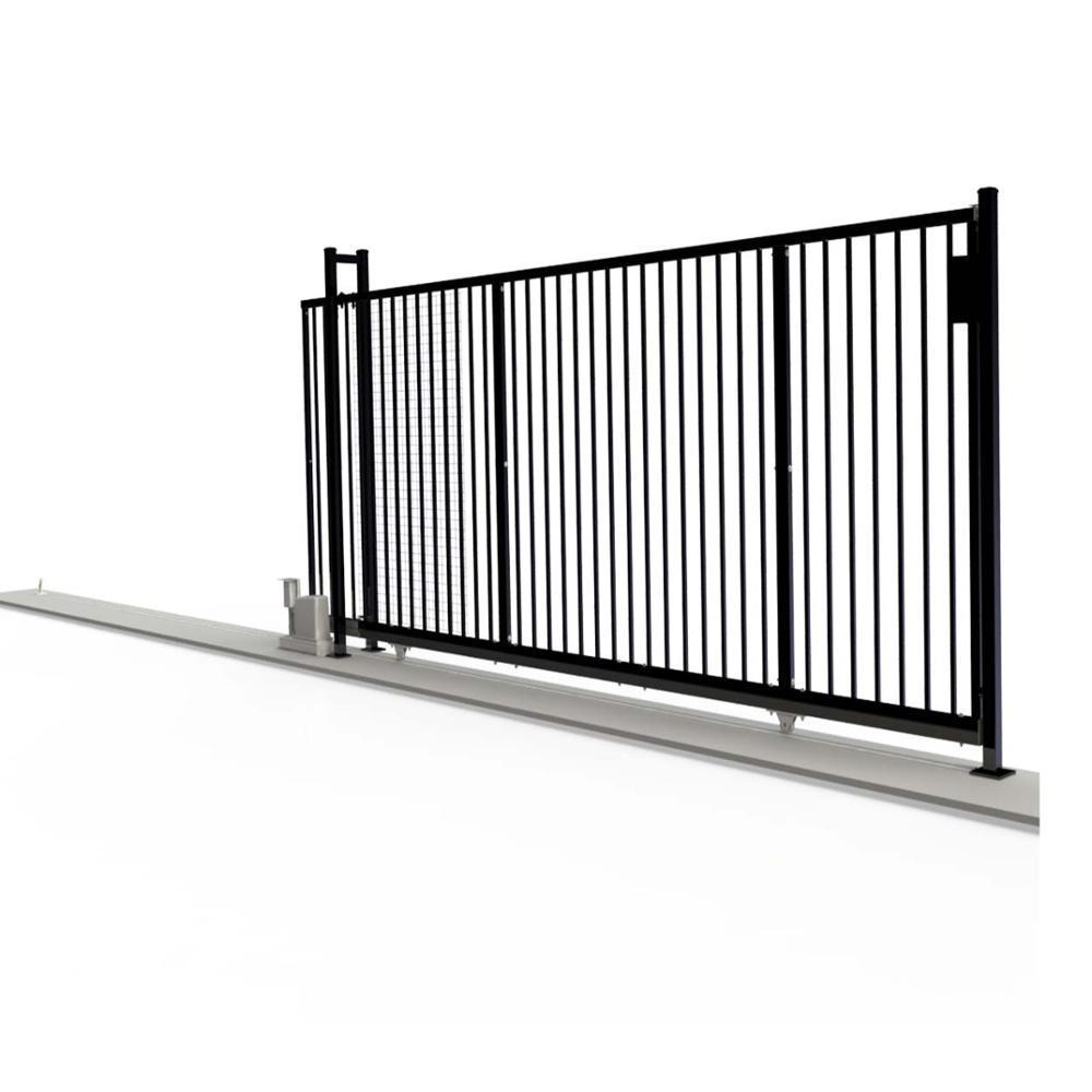 Aluminium Alloy Industrial Track Mounted Slide Gate