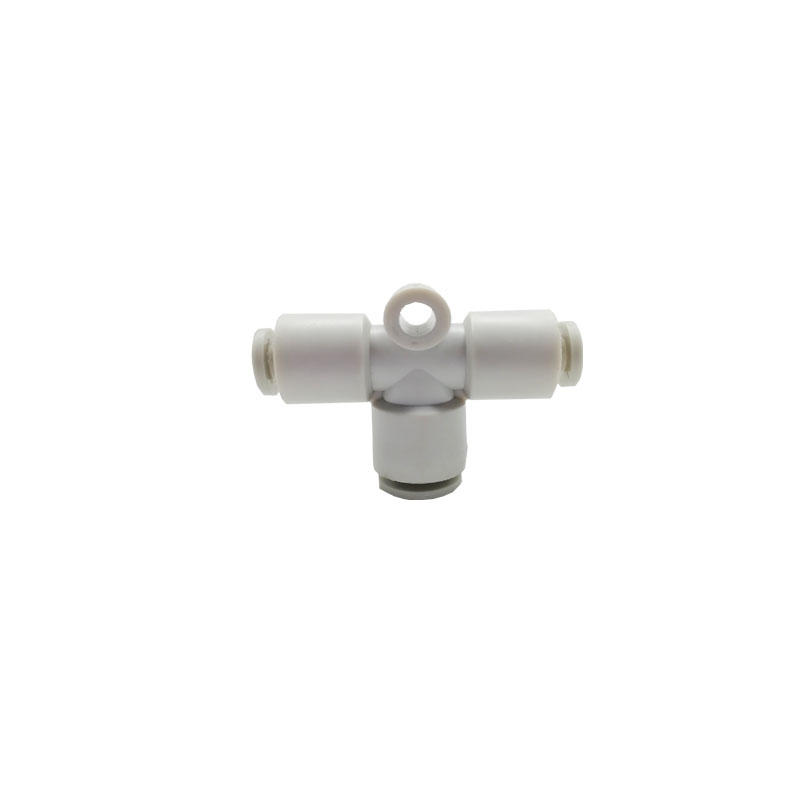 T-type tee joint KQ2T series Nitrogen connectioncompressionfitting