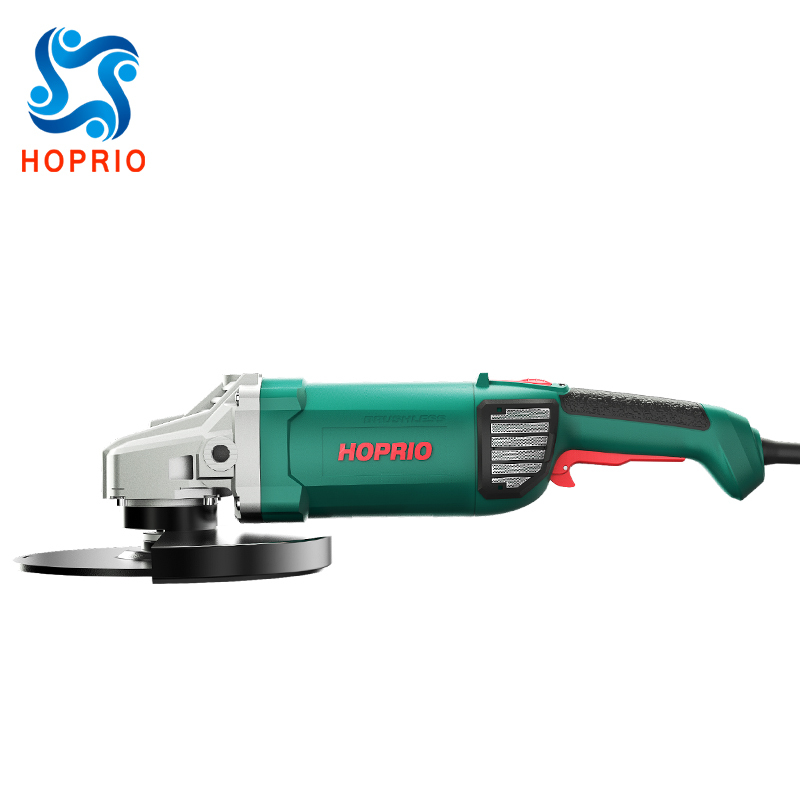 Fast Speed Power Tools 2600W 9 Inch 230mmElectricBrushless AngleGrinder