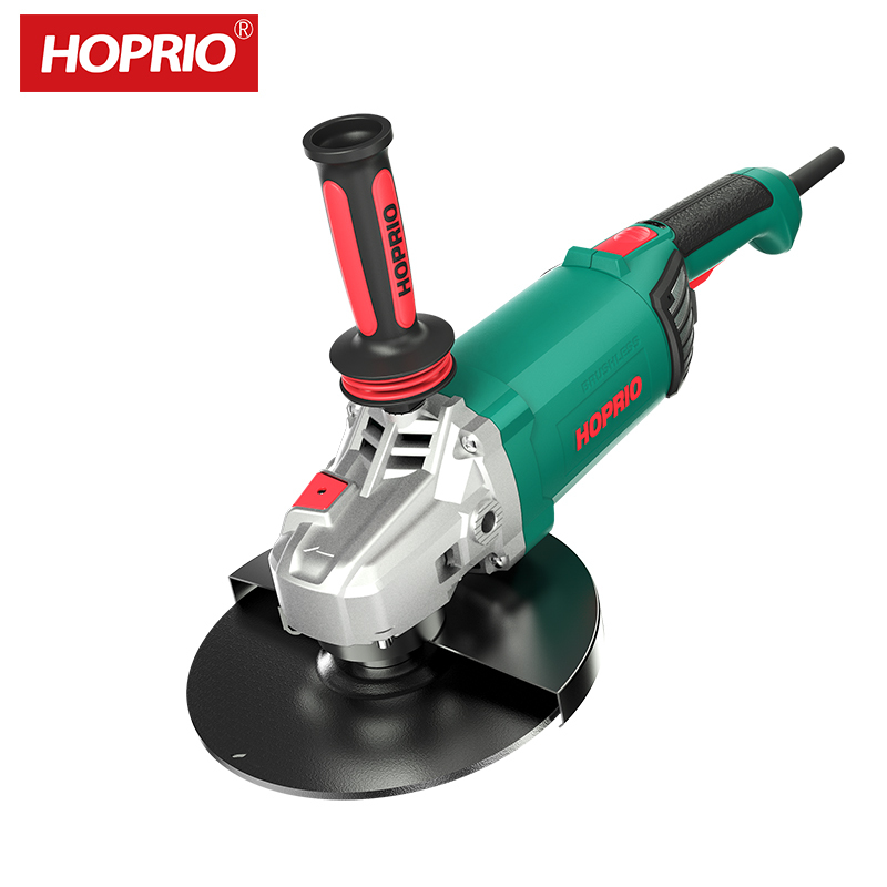 Big Power 230MM 9 Inch Angle Grinders Heavy Duty Hand Power Tool with Brushless Motor