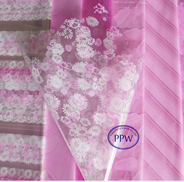 Choose Pattern & Size Wedding Cellophane Christmas Cello Gift wrapping
