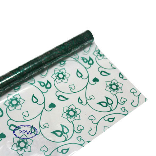 Printed Bopp Film Scrap Rolls for Flower Wrapping
