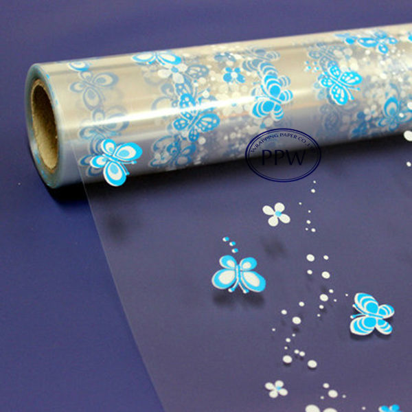 Plastic cellophane wrap gift paper types of gift wrapping paper