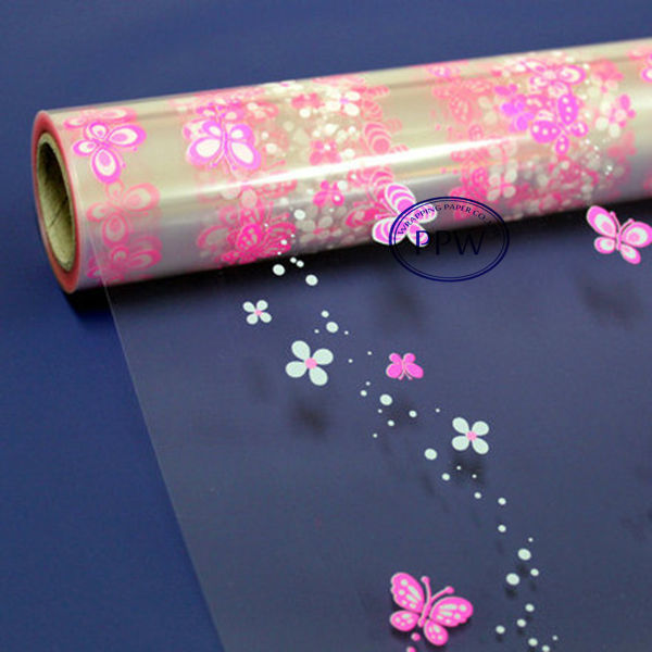 Printed Cellophane Wrapping Paper transparent printing paper