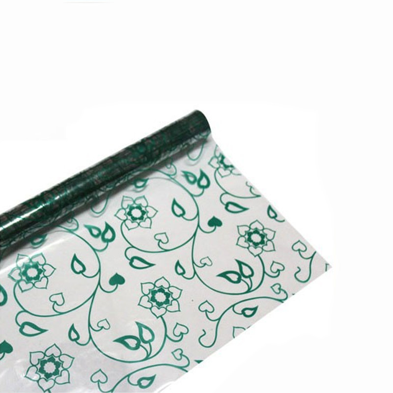simple design transparent wrapping paper roll windows paper