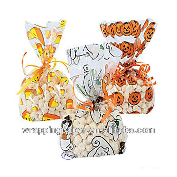 Custom printed candy cellophane bags wholesale