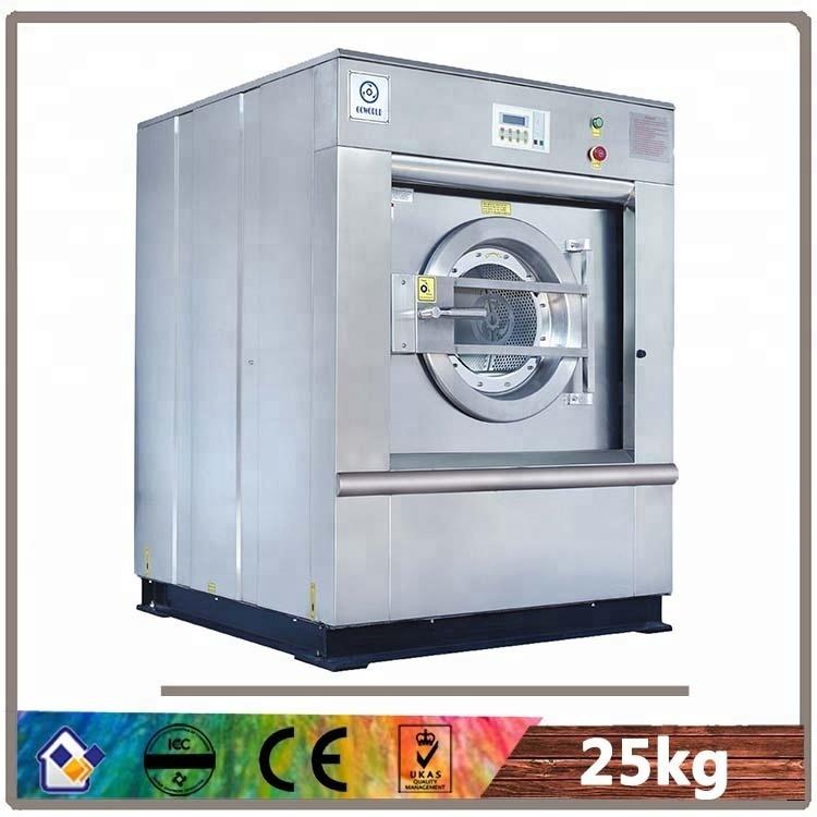 25kg electric heating hotel washing machine