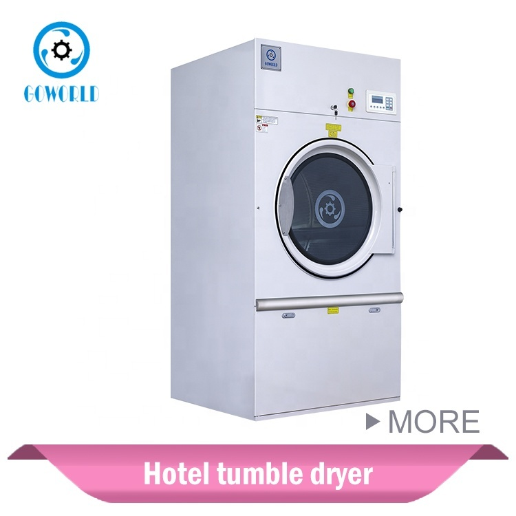 25kg Steam heat hotel use industrial dryer,laundry drying machine