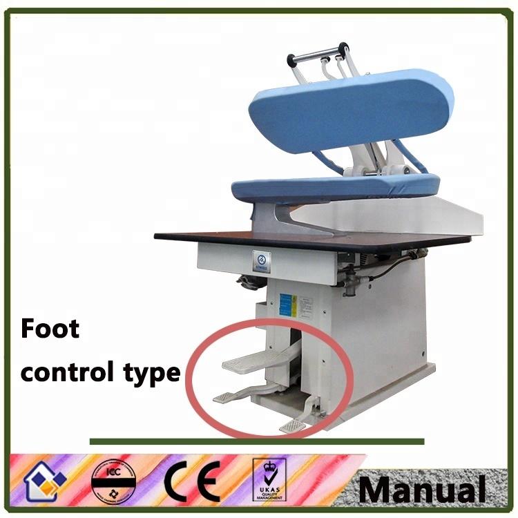 Utility laundry press machine Manual control utility press