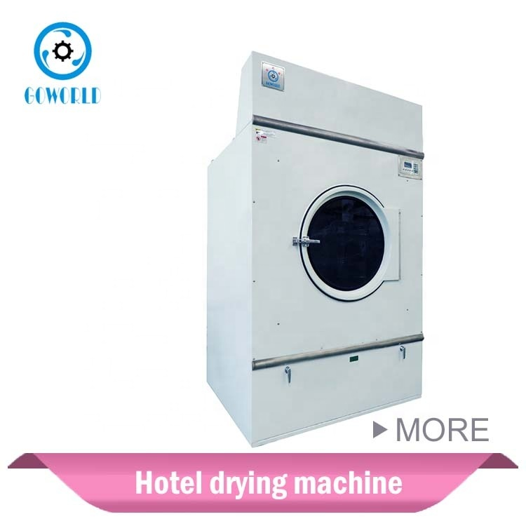 100kg Gas heating garment laundry dryer,industrial drying machine for South Africa market