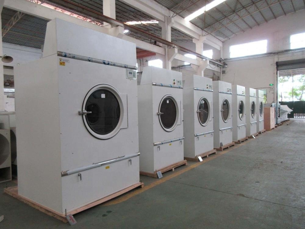 15kg gas heating commercial drying machine for linens,fabric,jeans