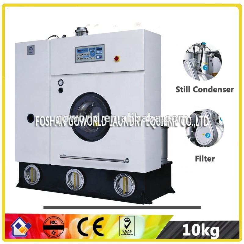 Full Closed Dry-cleaning Machine for India hotel market