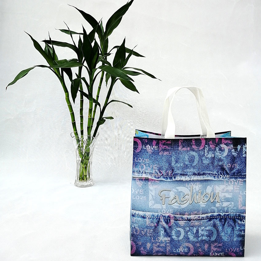 Factory customized fashion temperament PP non-woven bag is biodegradable