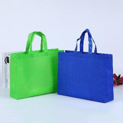 recyle used nonwoven bag with logo for sealing bags in nonwoven fabric